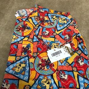 LulaRoe Irma - Disney collection - Little Mermaid